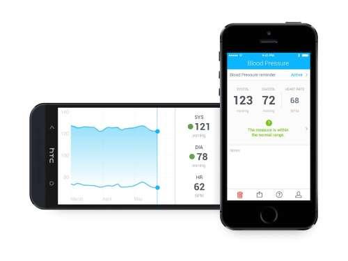 Blodtryksmåler smartphone