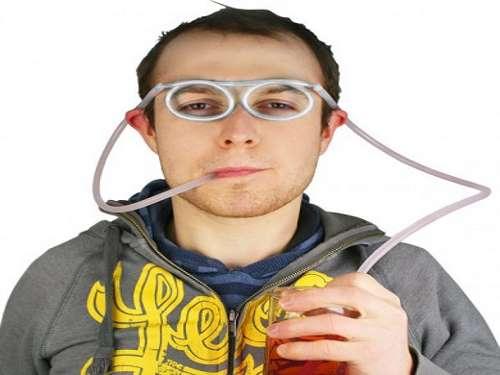 Sugerørs briller
