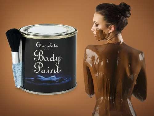 Chokolade body paint