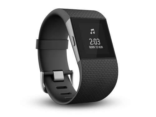 FITBIT SURGE display