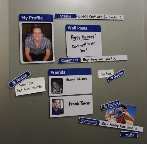Facebook magneter