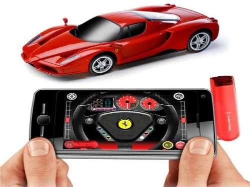 Fjernstyret bil til smartphone