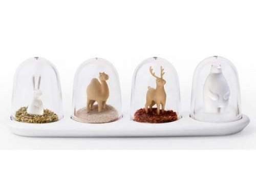 Krydderiholder med dyr