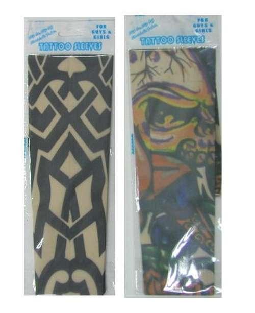 Tattoo sleeve indpakning