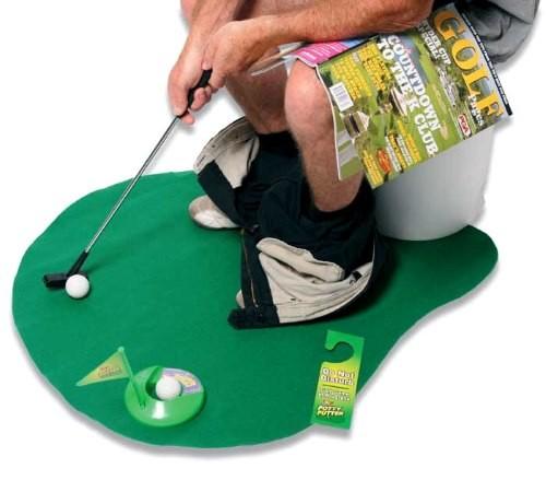 Toilet golf spil