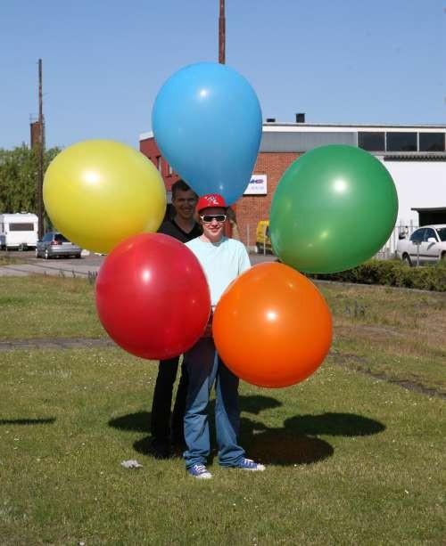 gigantiske balloner
