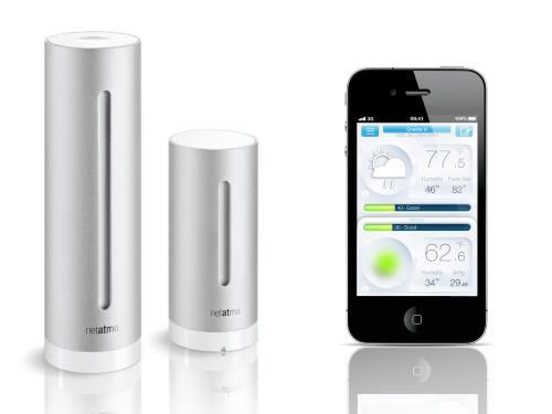 vejrstation til smartphone